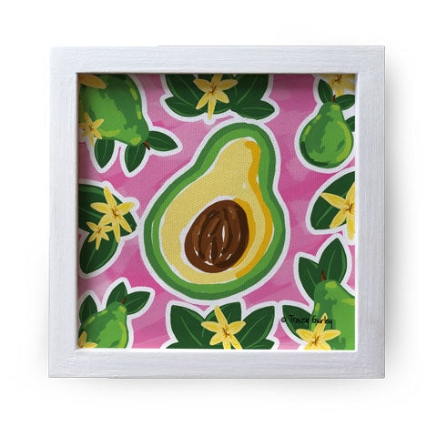 """Avocado"" Canvas Box Sign by Tracey Gurley"