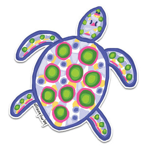TG6-103-Pink-and-Blue-Turtle-by-Tracey-Gurley-and-CJ-Bella-Co