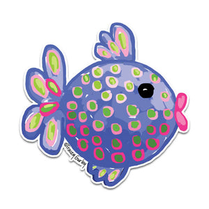TG6-119-Blue-Tropical-Fish-by-Tracey-Gurley-and-CJ-Bella-Co