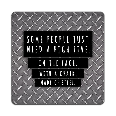 """Some People Just Need"" Vinyl Decal by CJ Bella Co"