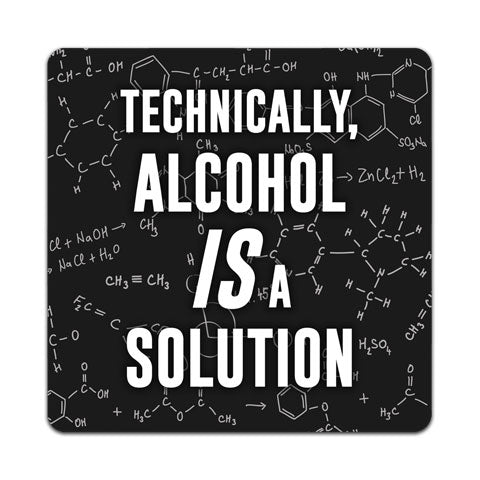 """Technically, Alcohol"" Vinyl Decal by CJ Bella Co"