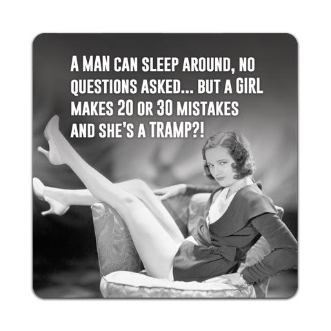"""A Man Can Sleep"" Vinyl Decal by CJ Bella Co"