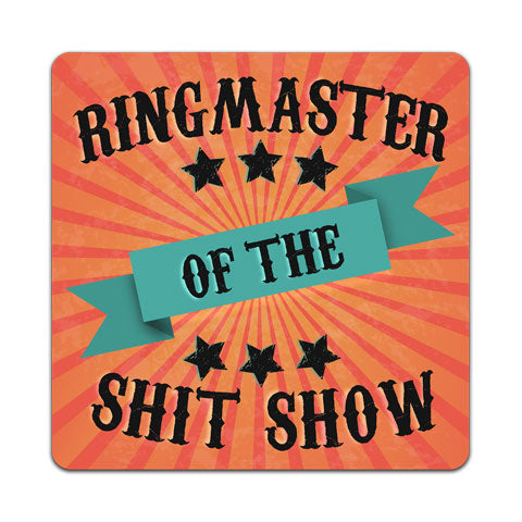 """Ringmaster Of The"" Vinyl Decal by CJ Bella Co"