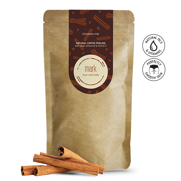 MARK coffee scrub Cinnamon Chai