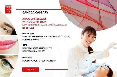 3 DAYS MASTER CLASS WITH DOLORES SROK - SWISS COLOR™  Canada Permanent Makeup