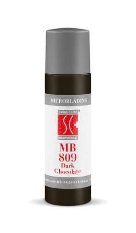 MB Dark Chocolate 12ml - SWISS COLOR™  Canada Permanent Makeup