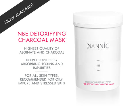 Nannic NBE Detoxifying Charcoal Mask - PEEL OFF MASK