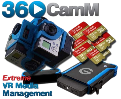 360Rize 360CAMMAN V2 VR MEDIA MANAGEMENT SOFTWARE - The VR Pros