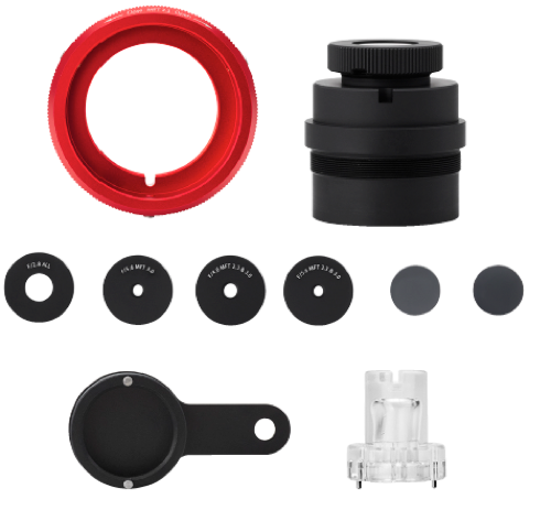 Entaniya Fisheye 250 MFT Rear Group Kit - The VR Pros