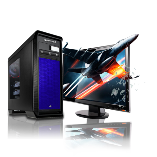 CybertronPC Titanium X99 GMTITANIUM35BL Gaming PC - The VR Pros