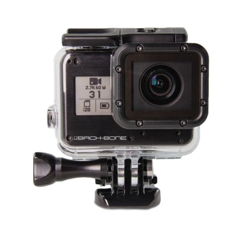 RIBCAGE H5M12 – MODIFIED HERO5 BLACK (M12 MOUNT) - The VR Pros