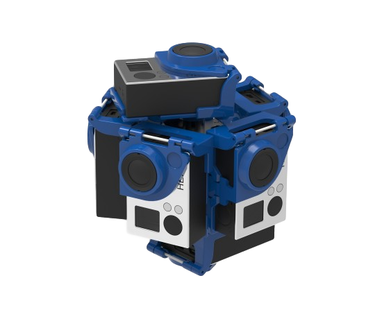 360Rize PRO7 VR SPHERICAL KIT FOR 7 GOPRO CAMERAS - The VR Pros