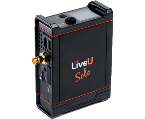 LIVEU SOLO PREMIUM BUNDLE WITH 1 YEAR LRT VIRTUAL CLOUD SERVER - The VR Pros