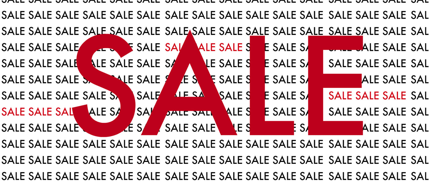 End of season sale is on