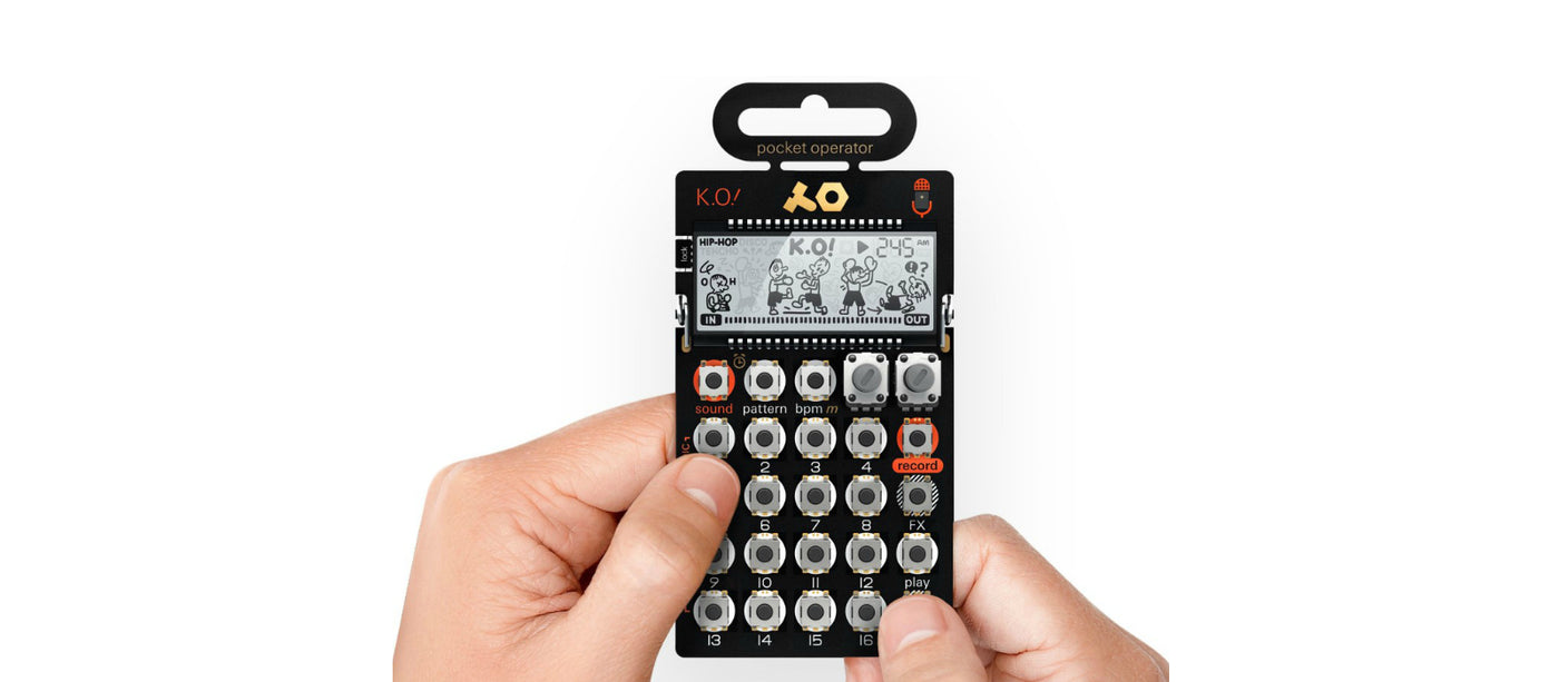 New pocket operator drop