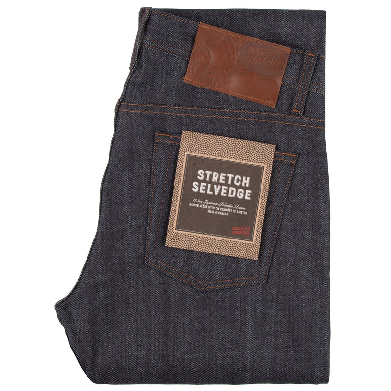 Naked And Famous - Weird Guy - Indigo Stretch Selvedge