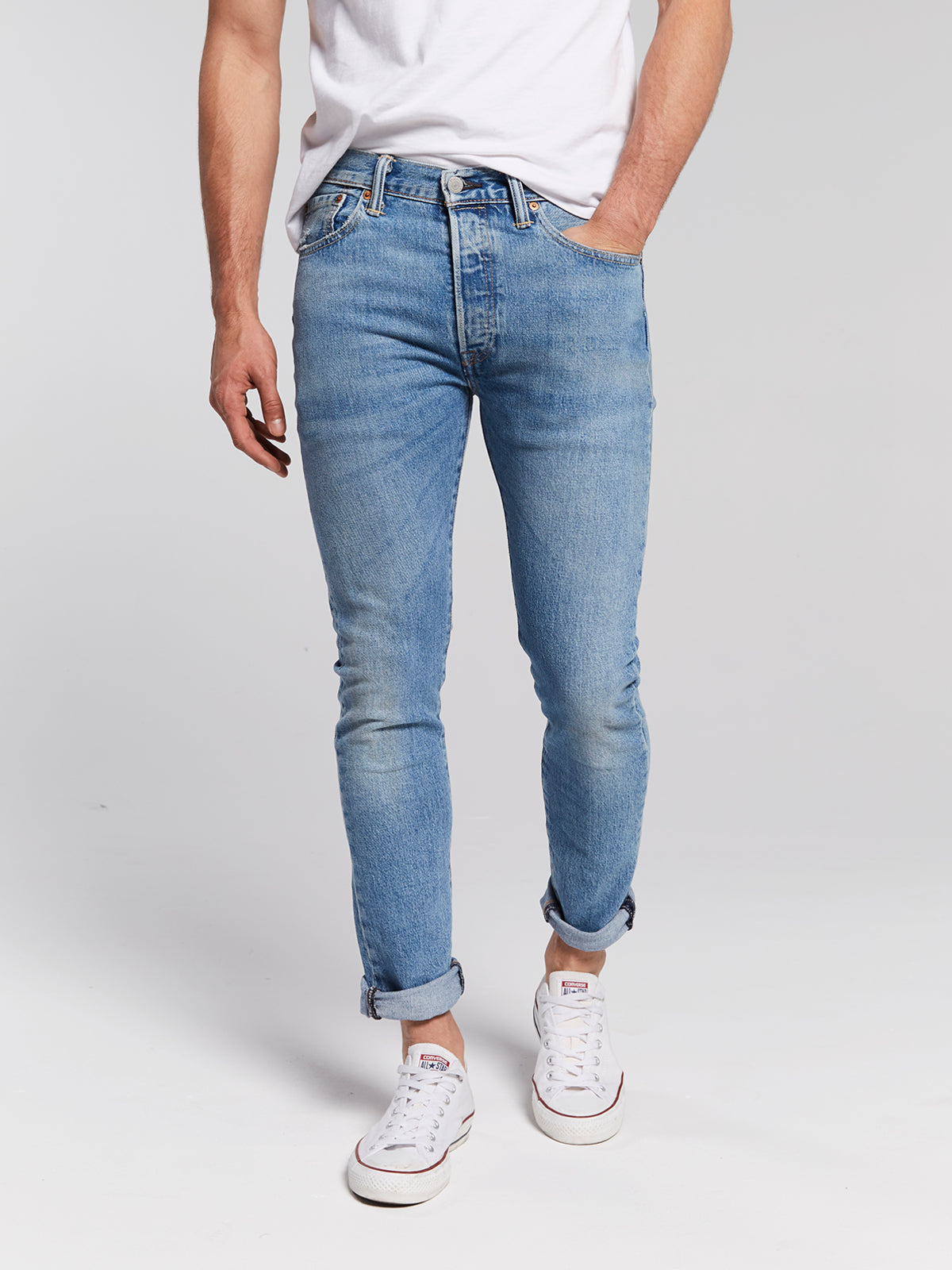 4699aecdc688 Levi's 501 Skinny Jeans - West Coast - Guys – O's Clothes