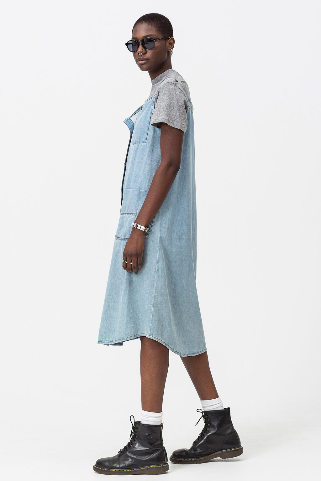 Cheap Monday - Threat Denim Dress - Dim Blue - Gals