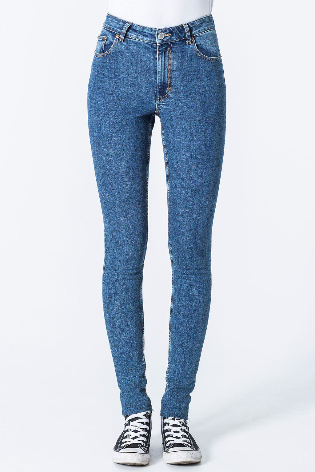 Cheap Monday - High Skin - Blue Love - Gals