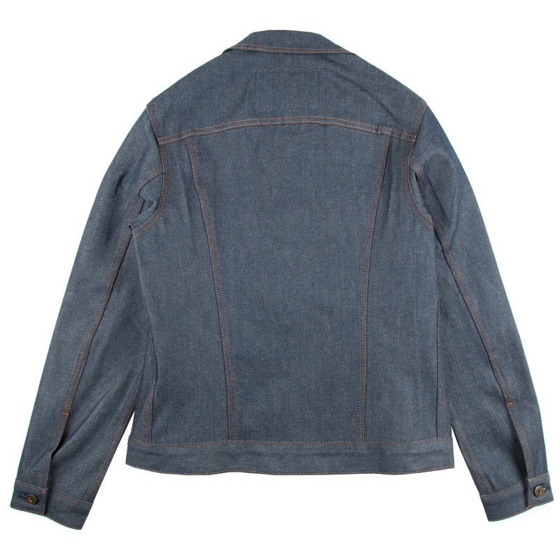 Naked And Famous - Denim Jacket - Natural Indigo Selvedge - Guys