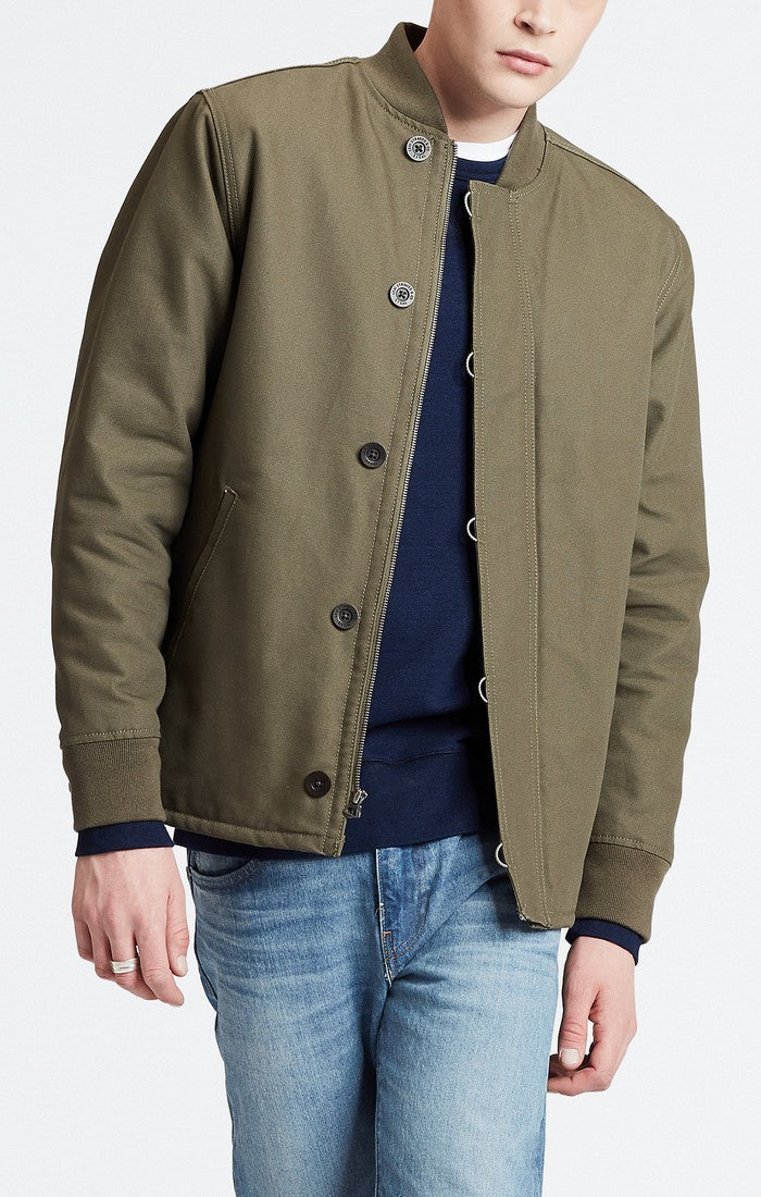 Levi's - Deck Bomber Jacket - Olive Night - Guyz