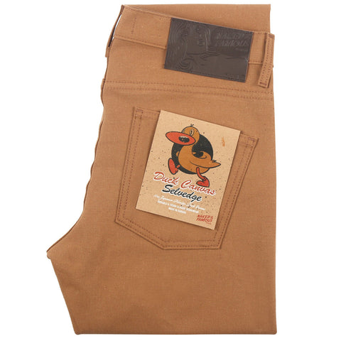Naked and Famous - Duck Canvas Selvege Skinny Guy