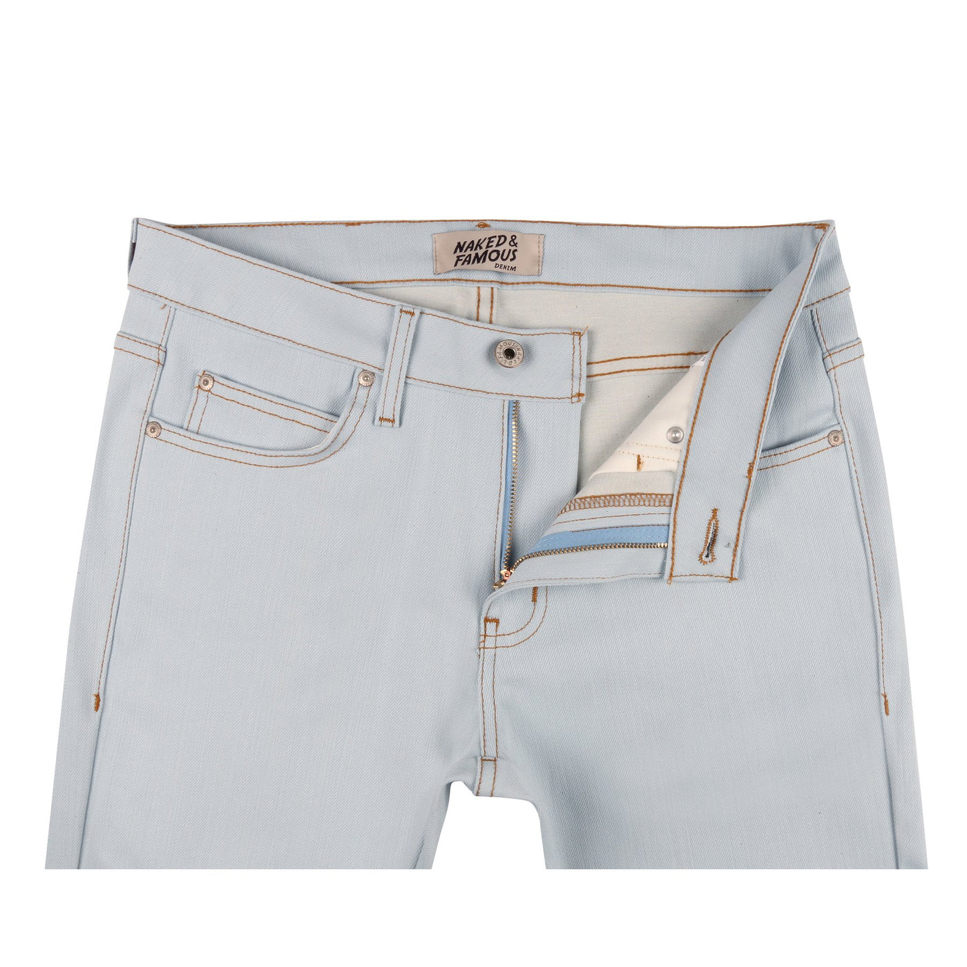 e31700f6f Naked And Famous - Powder Blue Power Stretch Super Skinny Guy – O's ...