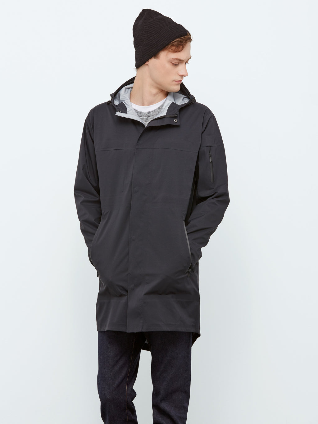 State Concepts - Waterproof Triple Torrent Fishtail Parka - Black - Guys