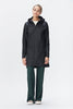 Rains - W Coat - Black - Gals