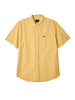 Obey - Langton Stripe Short Sleeve Shirt - Lemon Drop - Guys