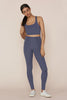 Girlfriend Collective - High Rise Classic Leggings - Tanzanite - Galz