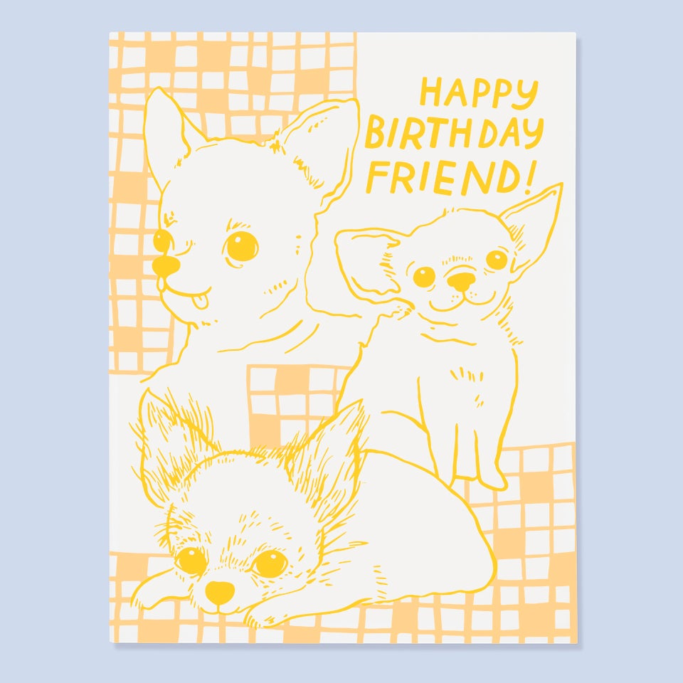 The Good Twin - Happy Birthday FRIEND! - Card