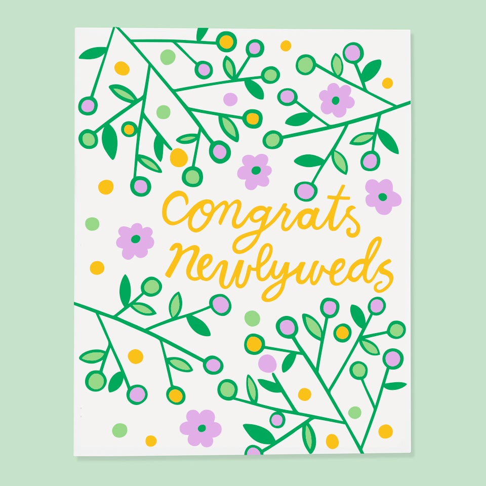 The Good Twin - Congrats Newlyweds - Card