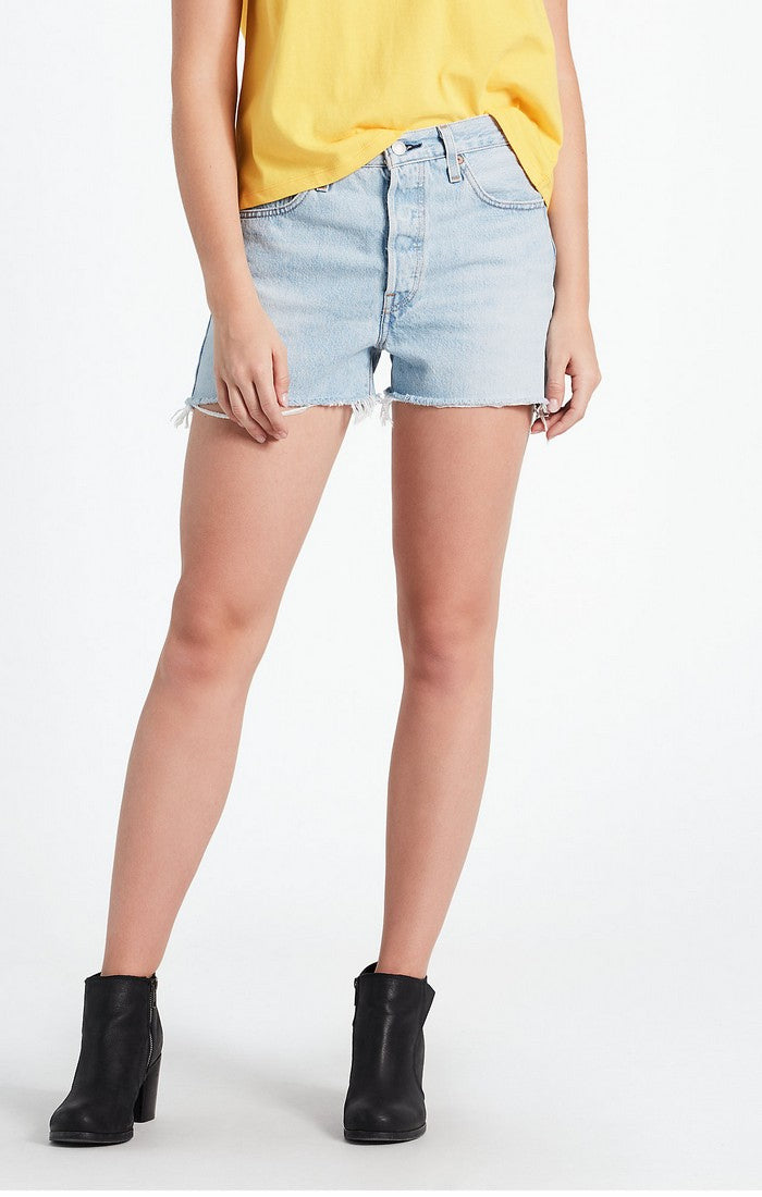 Levi's - 501 High Rise Shorts  - Weak In The Knees - Gals