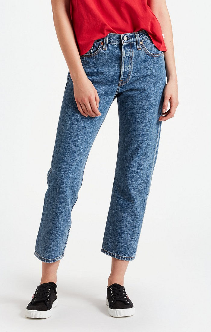 Levi's - 501 Crop  - Lost Cause - Jeans - Gals