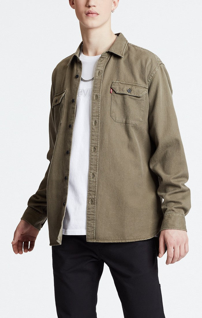 Levi's - Jackson Worker Shirt - Olive Night - Guyz