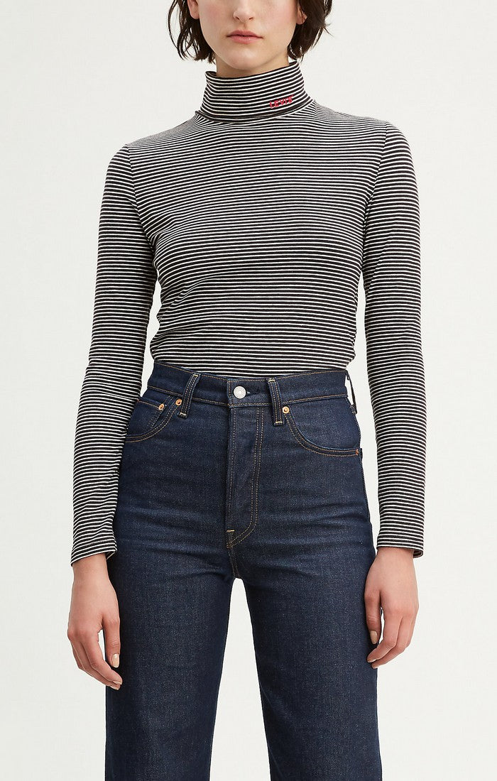 Levi's - Knit Turtleneck - Cascade Stripe - Shirt - Galz