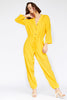 Callahan - Patti Jumpsuit - Canary Yellow - Galz