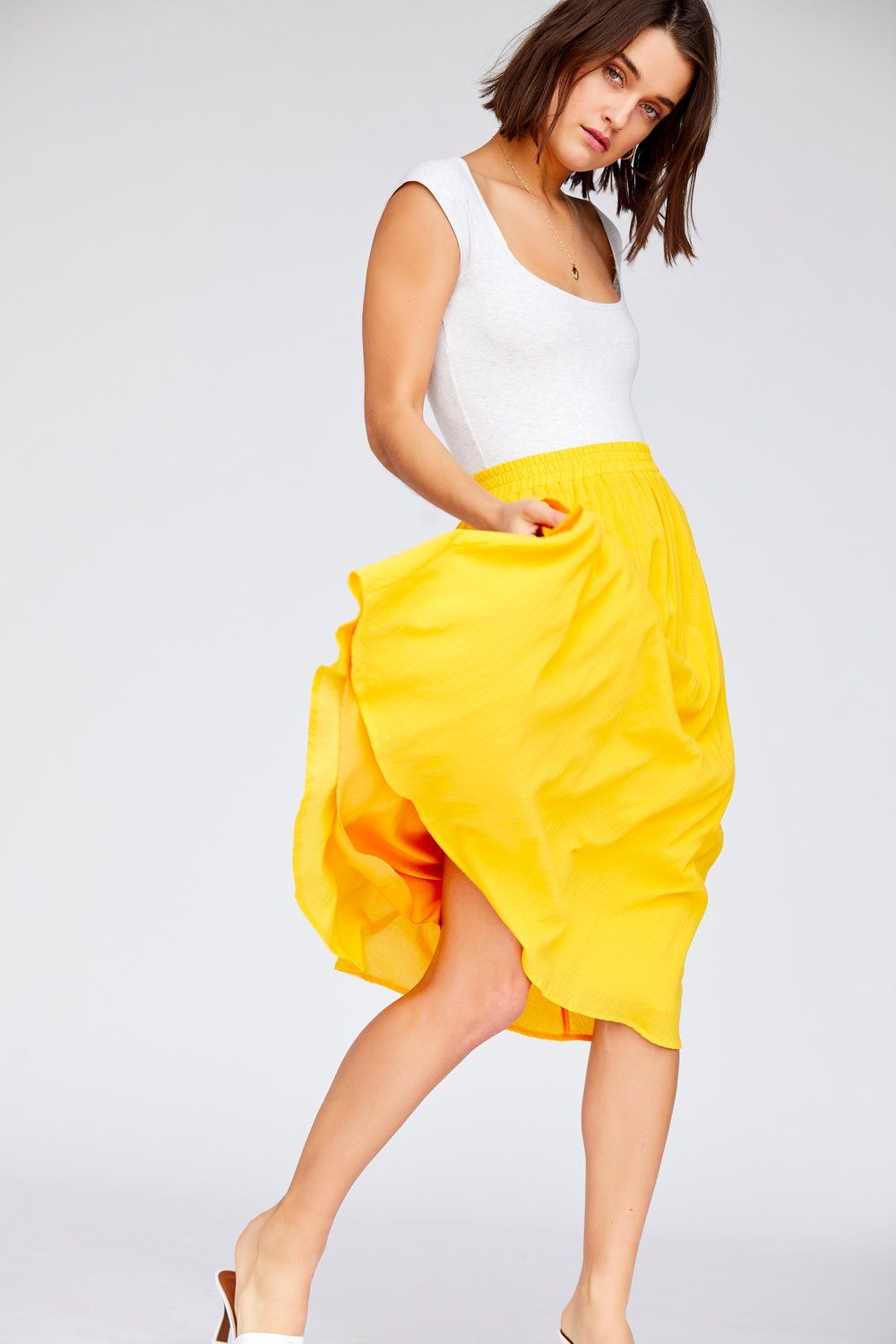 Callahan - Brigette Skirt - Canary Yellow - Galz