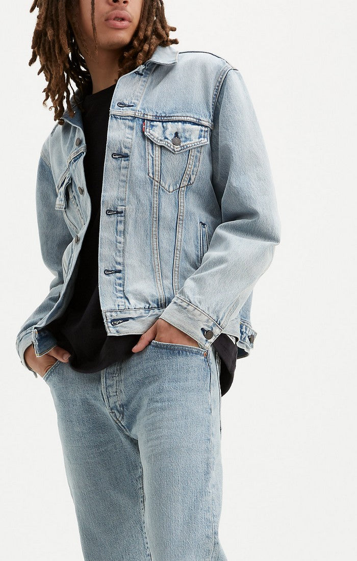 Levi's - Virgil Vintage Fit Trucker -  Jean Jacket  - Light Wash - Guyz