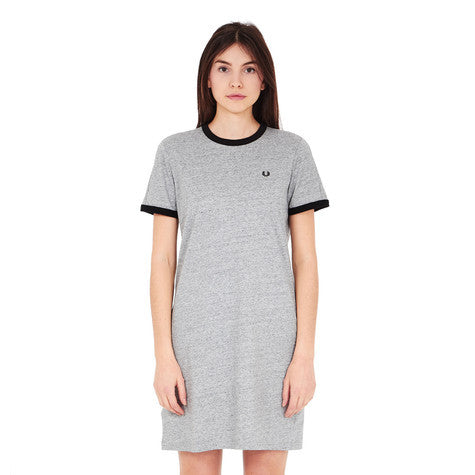 Fred Perry - Ringer T-Shirt Dress - Gals