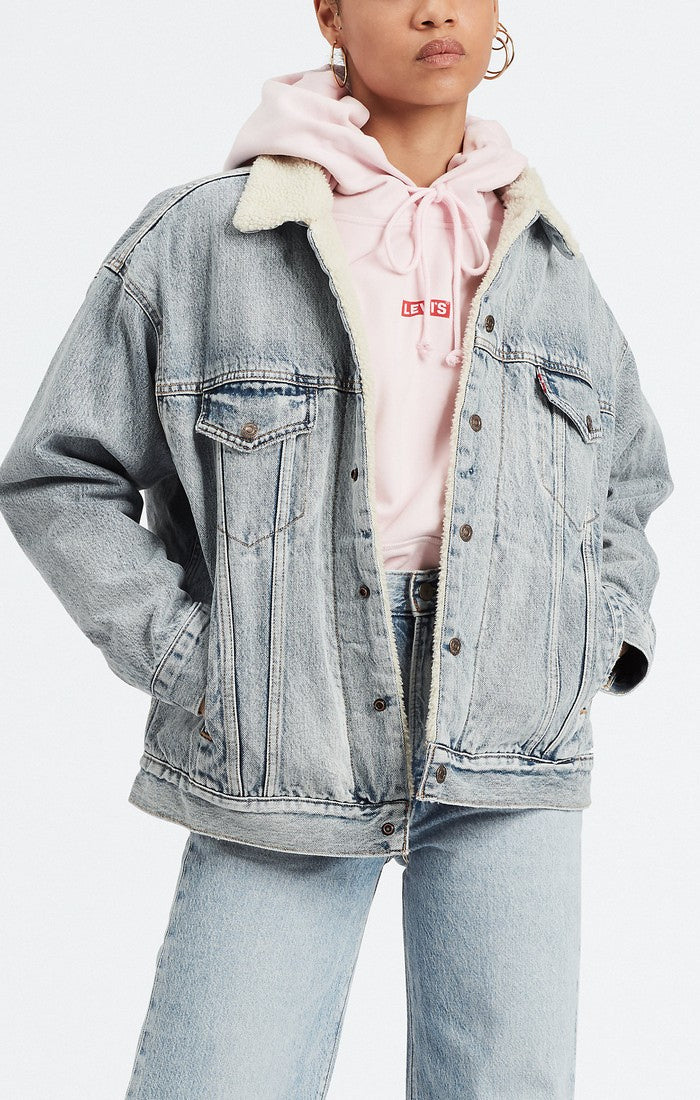 Levi's - Dad Sherpa Trucker - Warm Daddy - Galz