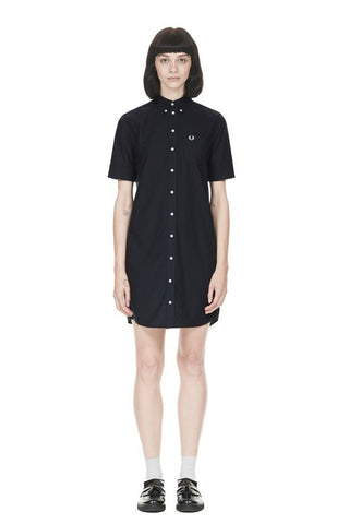 Fred Perry - Oxford Shirt Dress - Gals