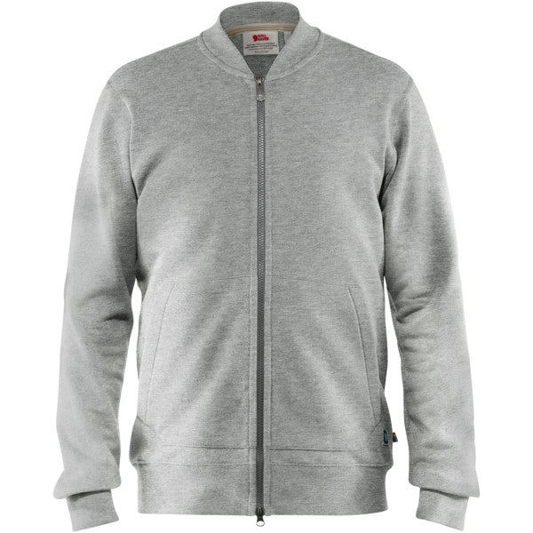 Fjallraven - Greenland Zip Cardigan - Grey - Guys
