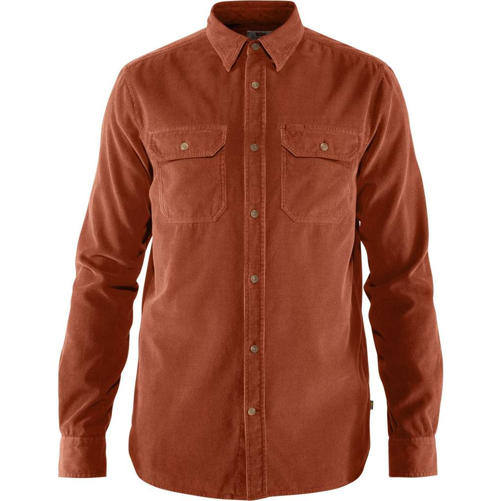 Fjallraven - Ovik Cord Shirt - Autumn Leaf