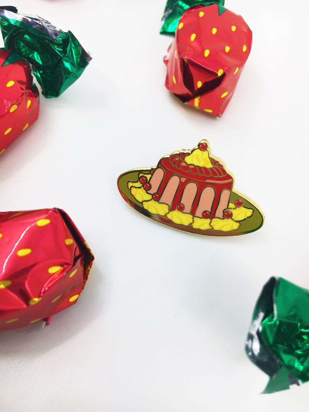 Jell-o Mold - Lapel Pin