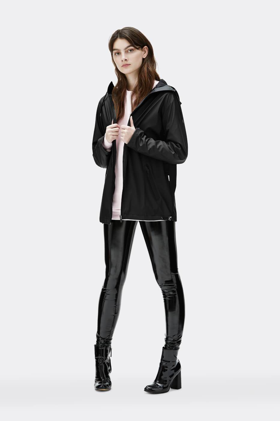 Rains - Breaker - Black - Unisex