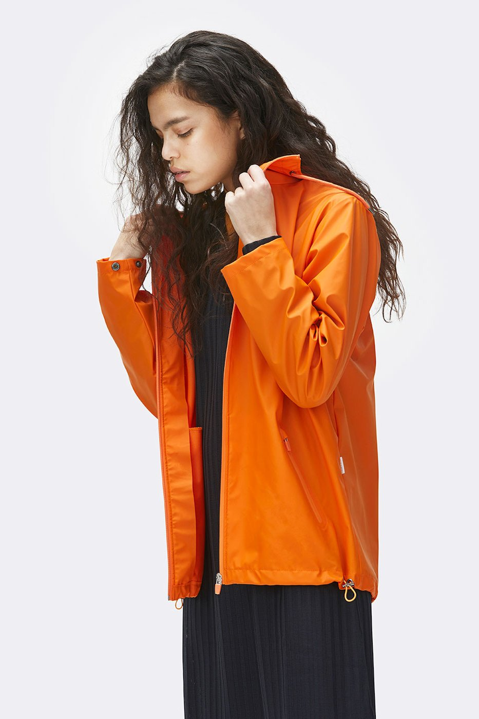 Rains - Breaker - Fire Orange - Unisex