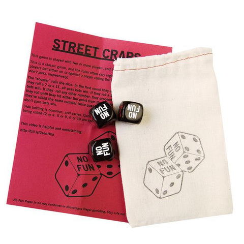 No Fun Press - Dice Set