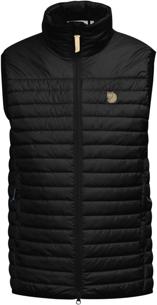 Fjallraven - Abisko Padded Vest - Black - Guys
